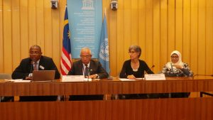 Caption: Opening of the Round Table Discussion. AM.Tchadie/UNESCO
