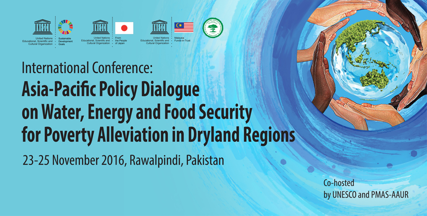 Asia Pacific Policy Dialogue on Water, Energy and Food Security for Poverty Alleviation in Dryland Regions