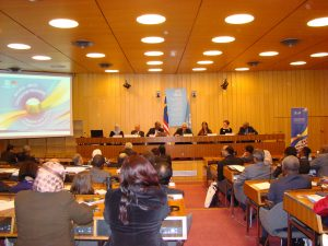 Panelist sharing experiences and achievements. S.Sulaiman/UNESCO