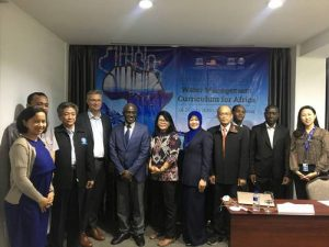 UNESCO Centres Draft Water Management Curricula for Africa